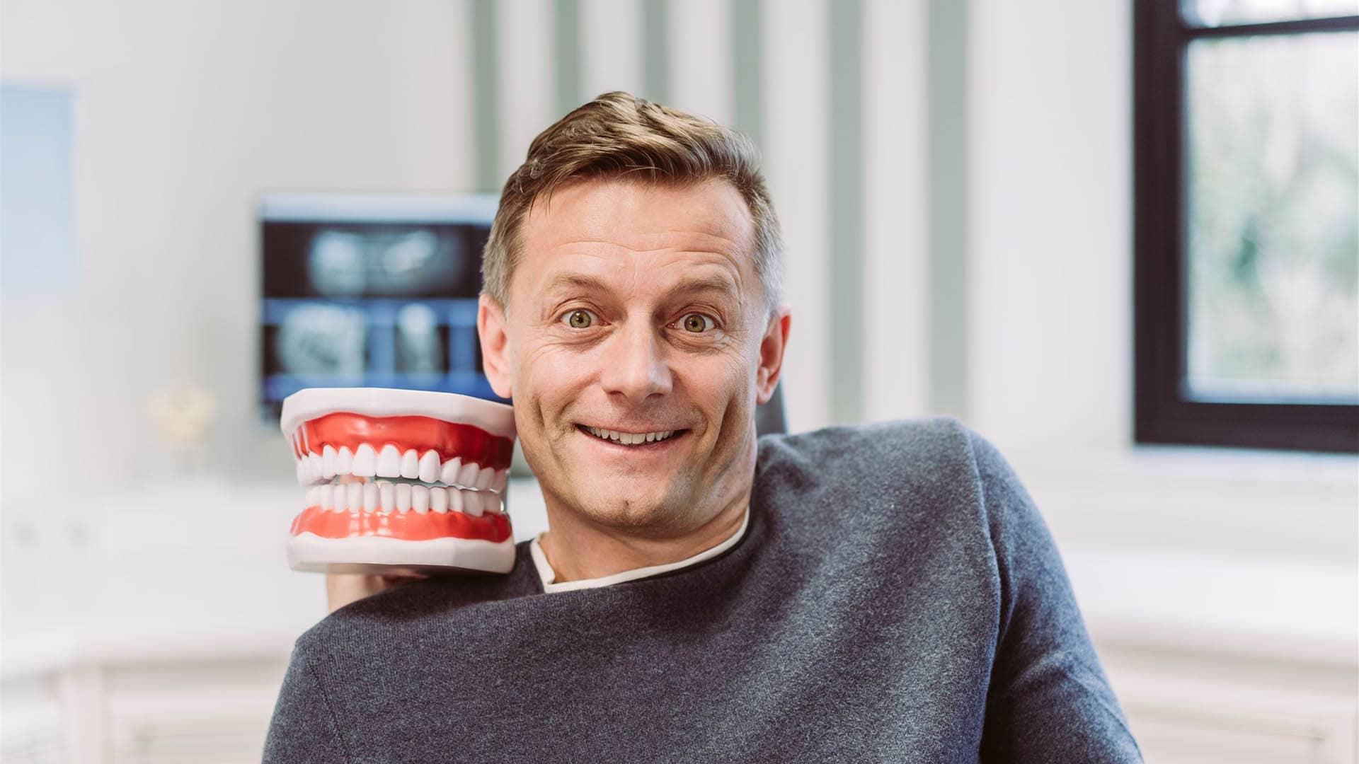 Bis zur Totalsanierung der Zähne
